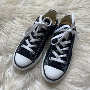 Black CONVERSE All Star ⭐️ CHUCK low tops 1.5